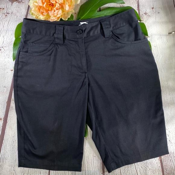 Slazenger Black Golf Shorts